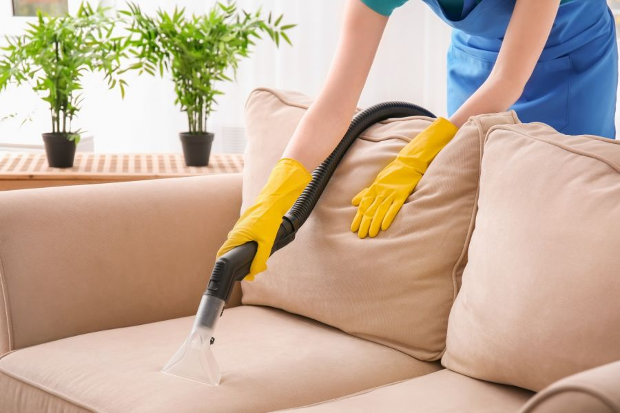 Sofa Cleaning by Premier Carpet Cleaning & Restoration LLC
